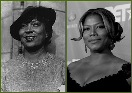 Queen Latifah = Zora Neale Hurston
